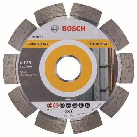 BOSCH - Disco corte diamante Expert Universal 125x22,23x2,2x12