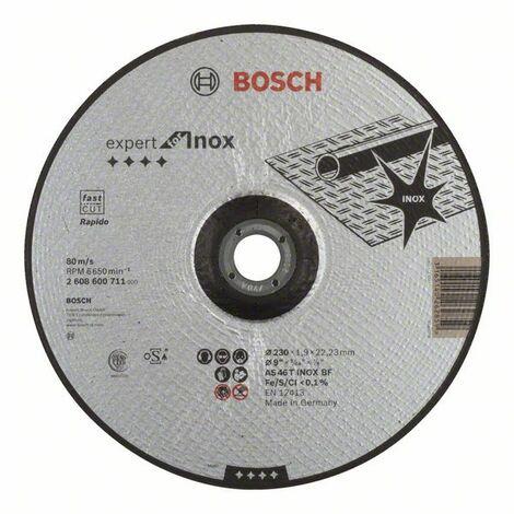 BOSCH - Disco corte Expert Inox - Rapido AS 46 T INOX BF, 180, 1,6