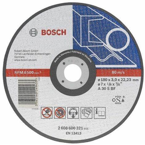 BOSCH - Disco corte recto Expert Metal A 36 R BF, 300, 25,40, 2,8