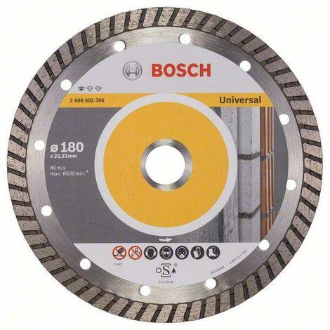 Bosch Disque à tronçonner diamanté Standard for Universal Turbo 150 x 22,23 x 2,5 x 10 mm