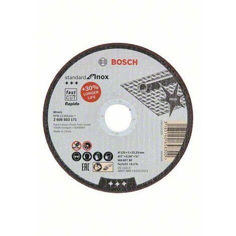 BOSCH Disque à tronçonner standard for INOX