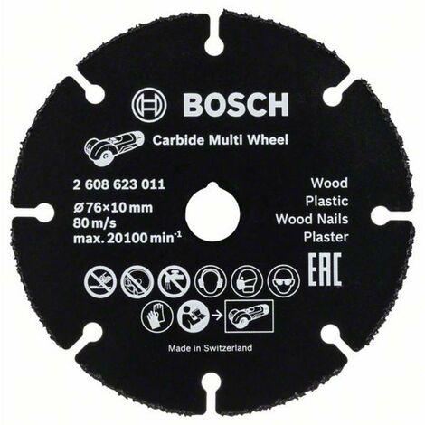 BOSCH Disque carbure Carbide Multiconstruction