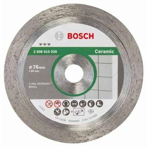BOSCH Disque diamant 76 mm Best for Céramic - 2608615020