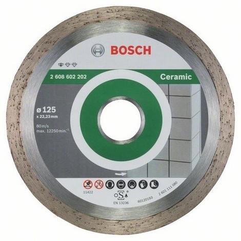 BOSCH Disques à tronçonner diamantés céramique - Standard for Ceramic