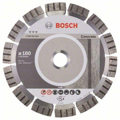 BOSCH Disques à tronçonner diamantés spécial béton - Best for Concrete