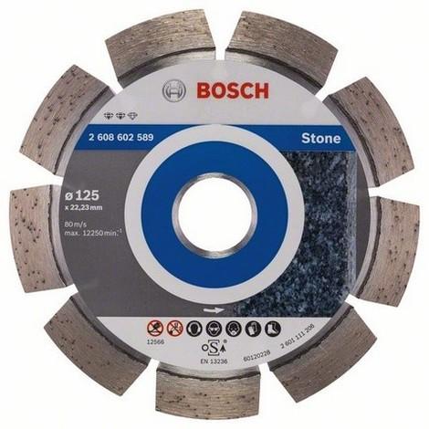 BOSCH Disques à tronçonner diamantés spécial pierre - Expert for Stone