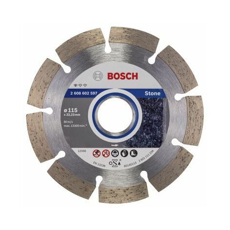 BOSCH Disques à tronçonner diamantés spécial pierre - Standard for Stone