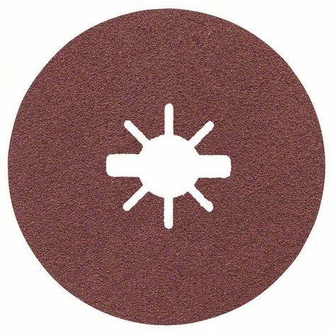 Bosch Disques abrasifs en fibre X-LOCK, Ø 125 mm, G 60, R444, Expert for Metal - 2608619173