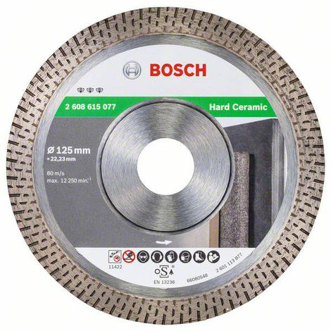 BOSCH Disques diamantés pour céramique - Best for Hard Ceramic
