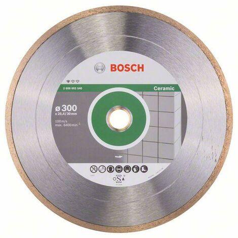 BOSCH Disques tronçonner diamant Standard Ceramic - Alésage 30/25.40 mm