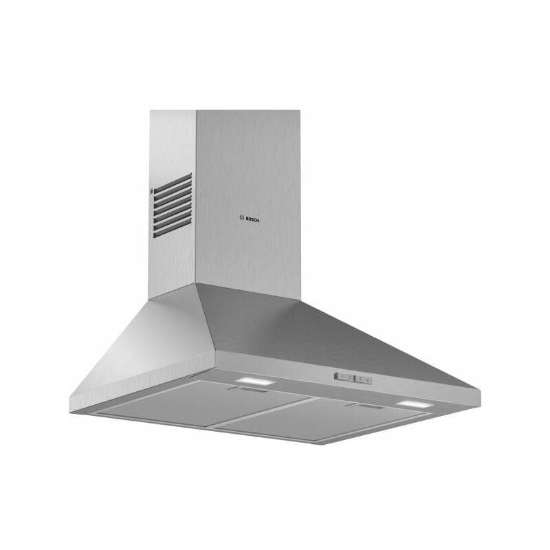 Bosch Serie 2 DWP64BC50 Monté au mur Acier inoxydable 360m³/h C hotte - Hottes (360 m³/h, Conduit, E, A, C, 66 dB)