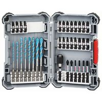 Bosch Embouts de vissages Impact Control MultiConstruction, set de 35 pièces
