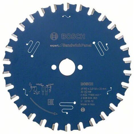 Bosch EX SH H 160x20-30 / 160 x 20 x 2,0/1,6 x 30
