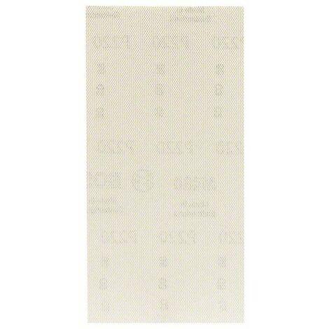 BOSCH Feuille abrasive - 93 x 186 mm - Grain : 80