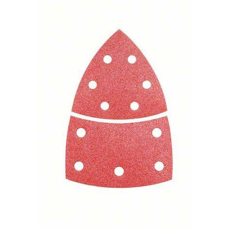Bosch Feuille abrasive Expert for Wood, kit de 10 pièces, 102 x 62, 93 mm, 80 - 2608607408
