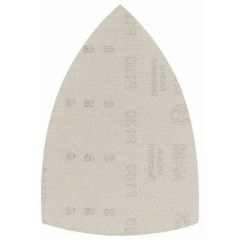 Bosch Feuille abrasive pour ponceuses Delta M480 Net, Best for Wood and Paint, 100 x 150 mm, 180, Pack de 10 - 2608621211