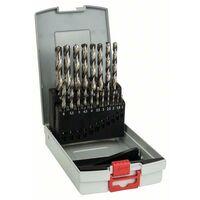 Bosch Forets à métaux HSS-G, DIN 338, 135°, assortiment ProBox de 19 pièces 1-10 mm