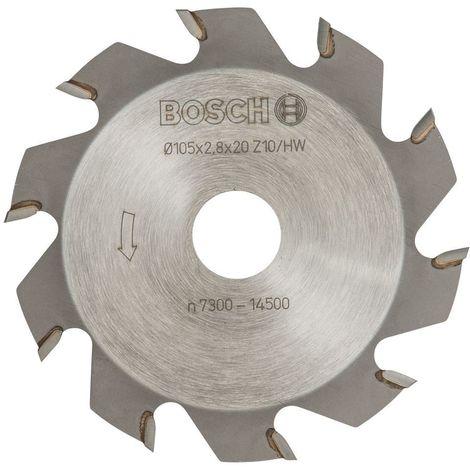Bosch Fraise 3 tailles HM FREES 2.8MM/10