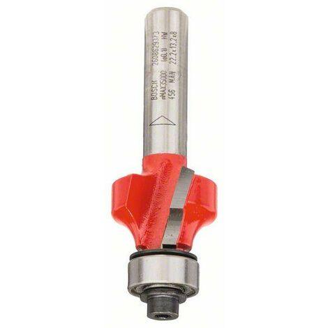 Bosch Fraise à arrondir 8 mm, D 22,2 mm, R1 4,75 mm, L 13,2 mm, G 55 mm