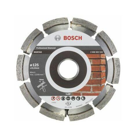 Bosch Fraise à joints Expert for Mortar 125 x 6 x 7 x 22,23 mm