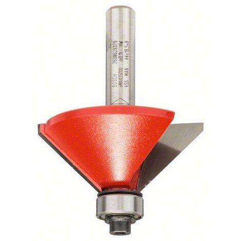 Bosch Fraises à chanfreiner en V 8 mm, D 44 mm, L 18,5 mm, G 61 mm