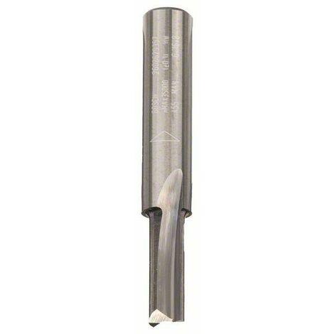 Bosch Fraises à rainurer droit, en carbure 8 mm, D1 6 mm, L 16 mm, G 51 mm