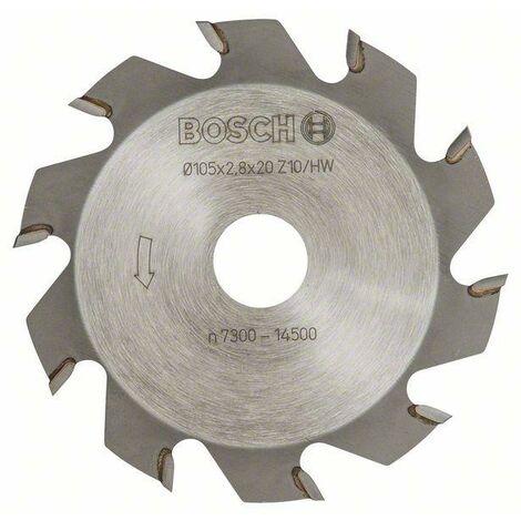 Bosch Fraises circulaires 10, 20 mm, 2,8 mm