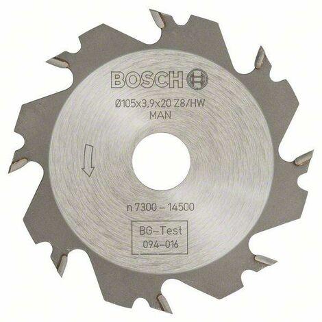 Bosch Fraises circulaires 8, 20 mm, 4 mm