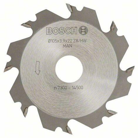 Bosch Fraises circulaires 8, 22 mm, 4 mm