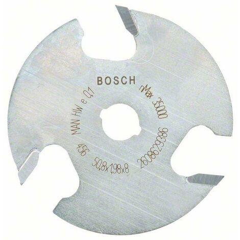 Bosch Fraises circulaires à rainurer 8 mm, D1 50,8 mm, L 2 mm, G 8 mm