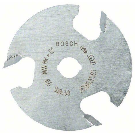 Bosch Fraises circulaires à rainurer 8 mm, D1 50,8 mm, L 3 mm, G 8 mm