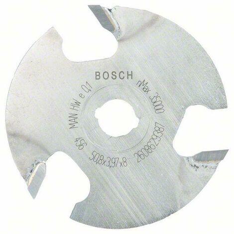 Bosch Fraises circulaires à rainurer 8 mm, D1 50,8 mm, L 4 mm, G 8 mm