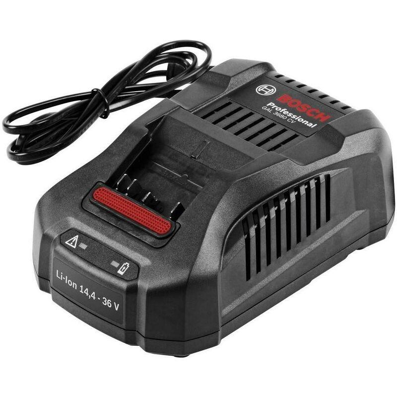 Bosch GAL 3680 CV 14.4v / 18v / 36v Multi Voltage Quick Battery Charger 1600A004ZT