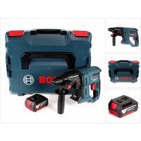 Bosch GBH 18 V-20 Professional Martillo perforador a batería 18V con SDS-Plus en maletín L-Boxx + 1x Batería GBA 3,0 Ah - Sin cargador incluido