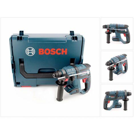 Bosch GBH 18 V-EC Martillo perforador a batería con SDS plus - Solo cuerpo en maletín L-Boxx ( 0611904003 )