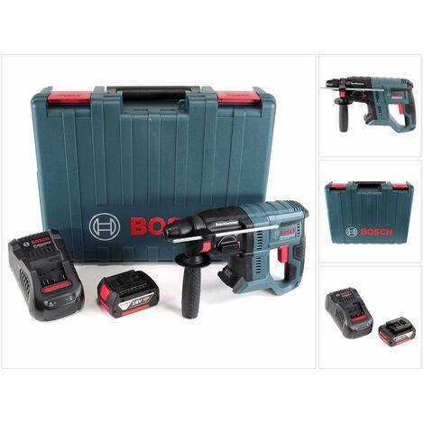 Bosch GBH 18V-20 Professional Perforateur sans-fil SDS-plus avec Boîtier de transport + 1x Batterie 4 Ah + Chargeur