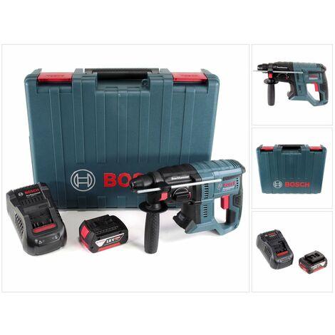 Bosch GBH 18V-20 Professional Perforateur sans-fil SDS-plus avec Boîtier de transport + 1x Batterie 5 Ah + Chargeur