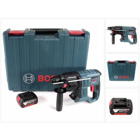 Bosch GBH 18V-20 Professional Perforateur sans-fil SDS-plus avec Coffret de transport + 1x Batterie 5 Ah - sans Chargeur
