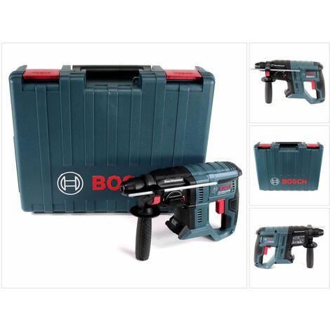 Bosch GBH 18V-20 Professional Perforateur sans-fil SDS Plus Solo dans + Boîtier de transport - sans Batterie ni Chargeur