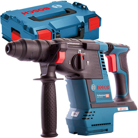 Bosch GBH 18V-26 SDS+ Brushless Rotary Hammer Drill Body Only in L-Boxx 0611909001:18V