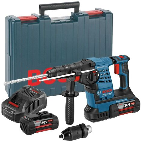 Bosch GBH36VF-LI Plus 36v SDS+ Hammer Drill(2x 6Ah Batts)