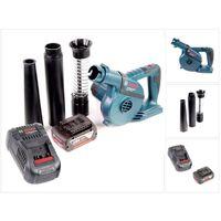 Bosch GBL 18 V-120 Akku Gebläse Laubbläser mit 1x Bosch GBA 18V 5,0 Ah Akku + GAL 1880 CV Ladegerät