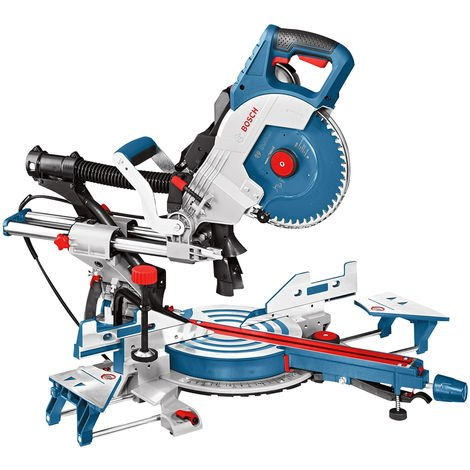 "Bosch GCM 8 SDE 240V 8"" Double Bevel Sliding Mitre Saw 0601B19270"