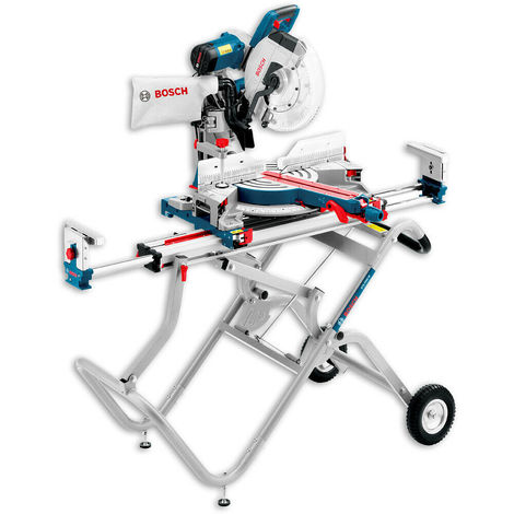 Bosch GCM12GDL 12in 240V Dual Bevel Glide Mitre Saw with GTA2500W Gravity Rise Stand 0601B23670