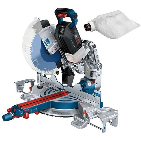 Bosch GCM18V-305 18V BITURBO Cordless Mitre Saw 305mm Bare + Dust Bag GCM18V305