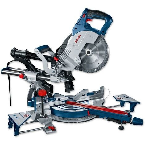 "Bosch GCM8SJL 8"" 240v Sliding Mitre Saw With Laser Cutting Guide -Includes Blade"