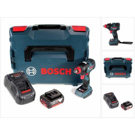Bosch GDX 18 V-200 C Professional 18 V Li-Ion Visseuse à chocs sans fil Brushless in L-Boxx + 1x Batterie 5,0 Ah + Chargeur