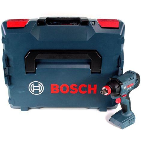 Bosch GDX 18V-180 18 V Li-Ion Visseuse à chocs sans fil 180 Nm Solo + Coffret de transport L-Boxx - sans batterie, sans chargeur (06019G5202)