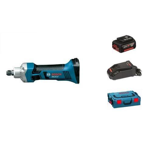 Bosch GGS 18 V-Li Meuleuse droite à batteries 18V Li-Ion set (1x batterie 4.0) dans L-Boxx