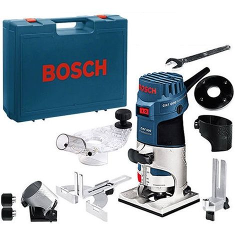 Bosch GKF 600 Compact Fixed Base Palm Router & Bases 110V 060160A161